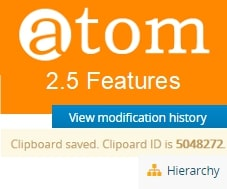 New features in AtoM 2.5 (Access to Memory)